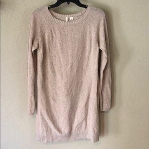 Anthropologie Moth side slit oversized sweater M